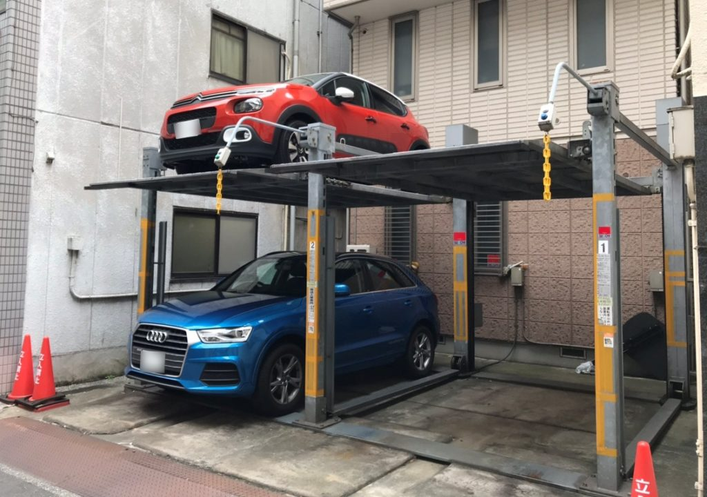 二段方式・多段方式の機械式駐車場